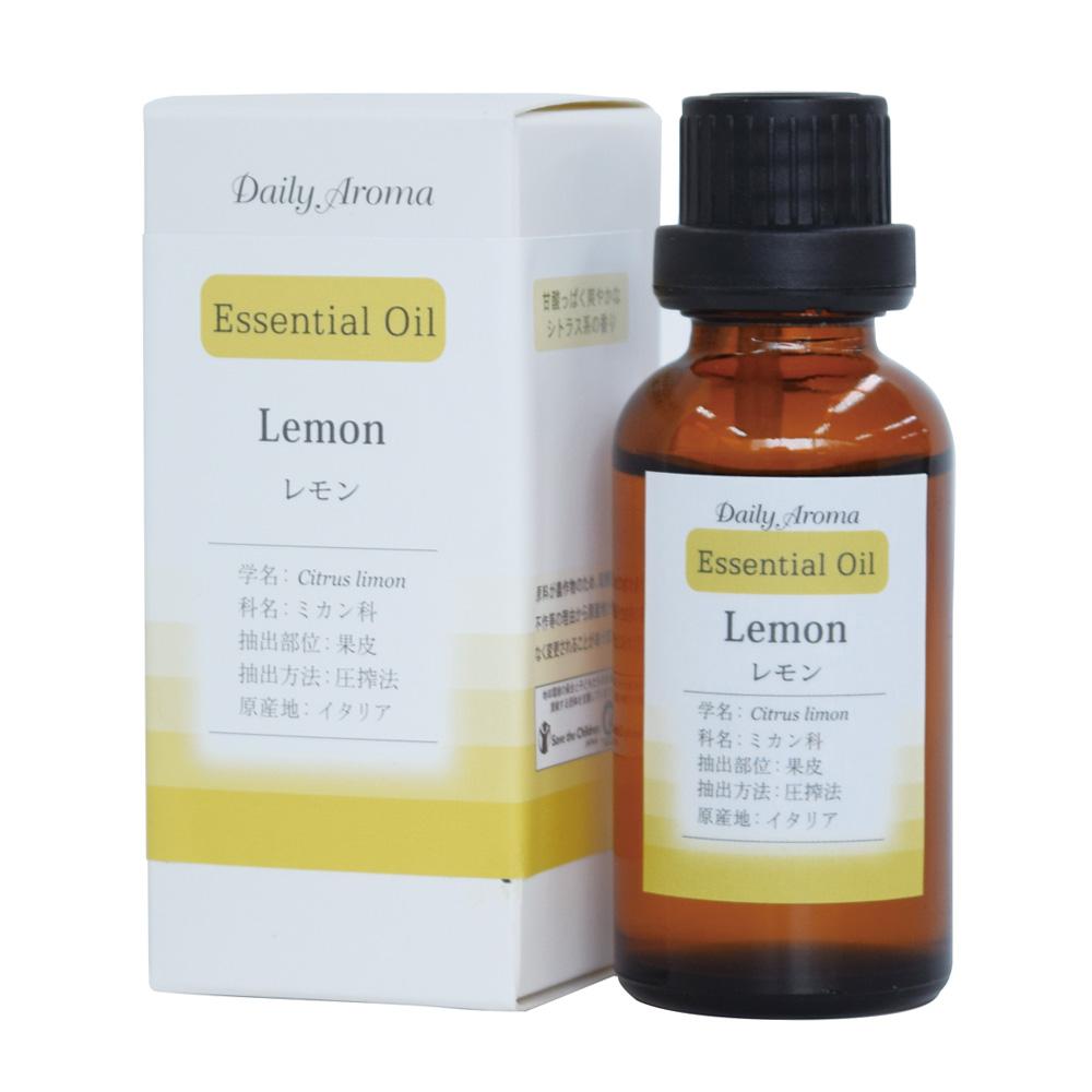 デイリーアロマエッセンシャルオイル30mL レモン
