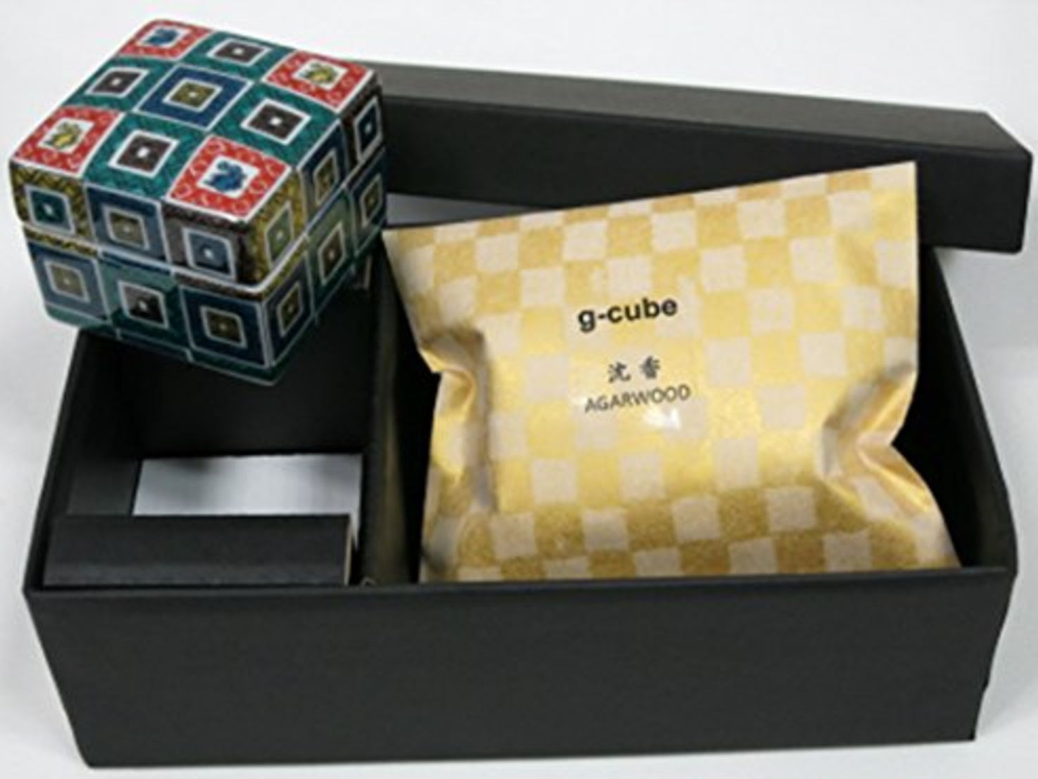 伝統工芸九谷焼 G-CUBE 香箱 セット箱