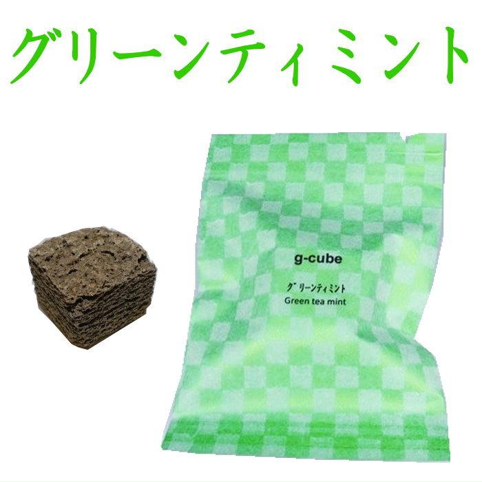 伝統工芸九谷焼 G-CUBE 香箱 グリーンティミント