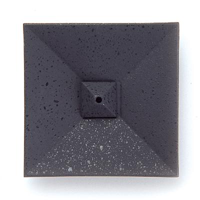 香皿 四角折 山形鋳物
