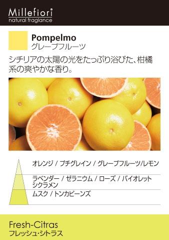 グレープフルーツ-プラグインディフューザー・Millefiori・ミッレフィオーリ・ARIA-
