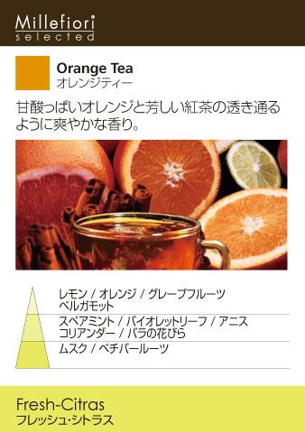 オレンジティー-プラグインディフューザー・Millefiori・ミッレフィオーリ・ARIA-