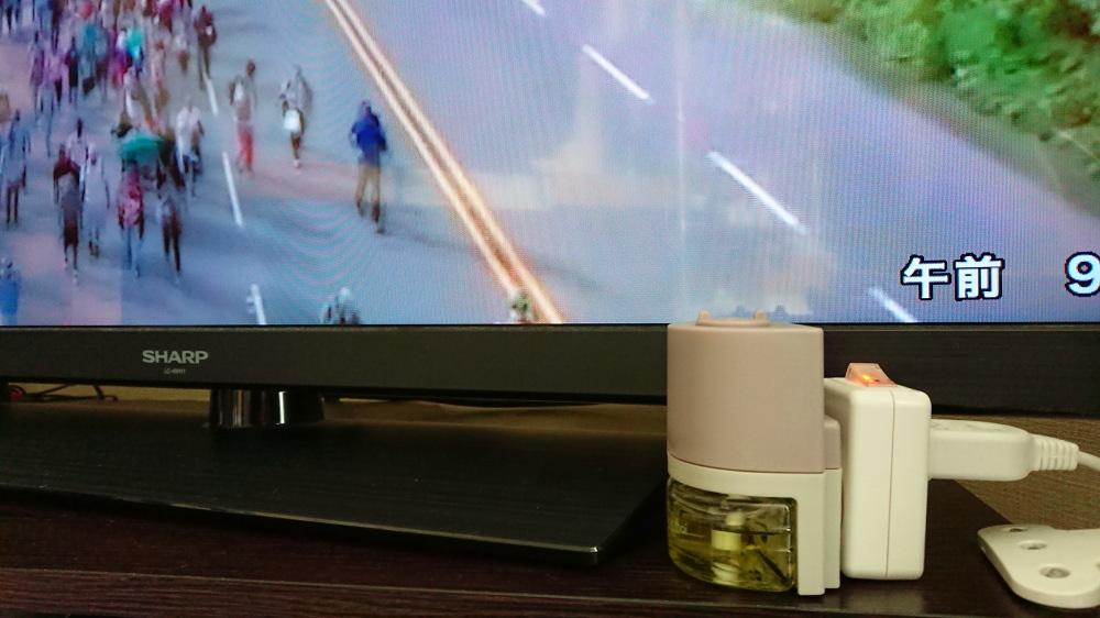 使い方 プラグインディフューザー・Millefiori・ミッレフィオーリ・ARIA-コンセント
