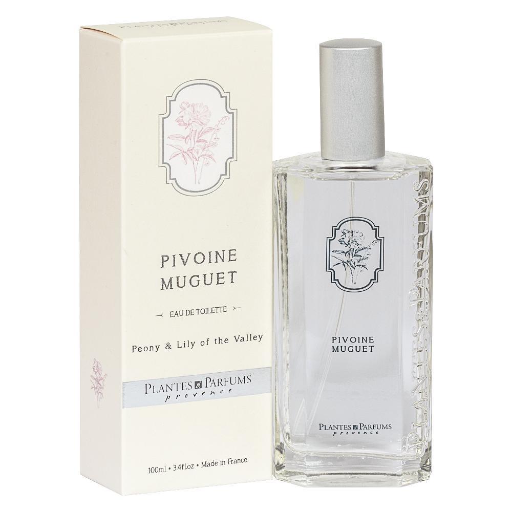 Plantes&Parfums オードトワレ ピオニー&リリーオブザバリー