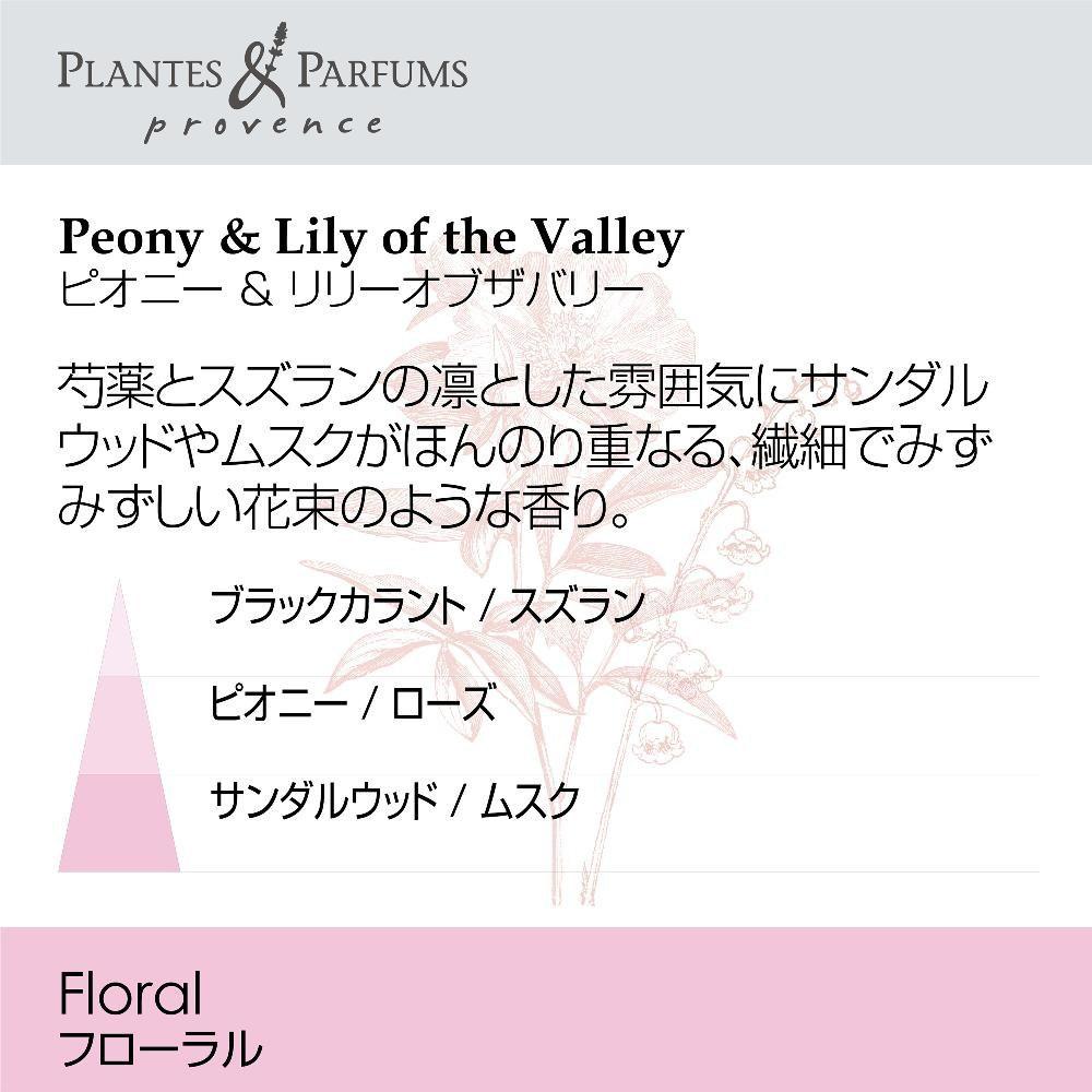Plantes&Parfums オードトワレ リリー&オブザバリー