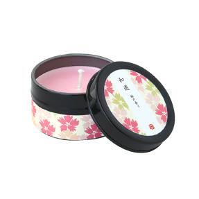 カメヤマ蝋燭・和游-缶キャンドル-さくら