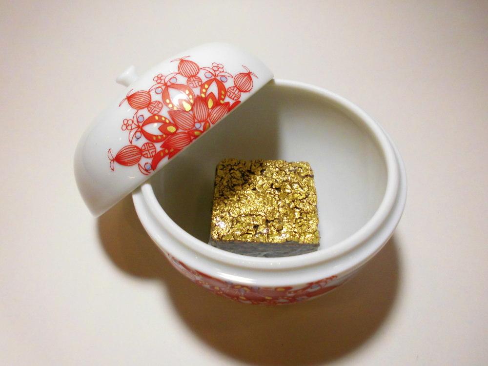 九谷焼 作家香炉 りんご