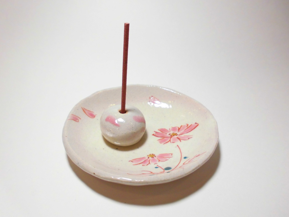 九谷焼-お香立て・香皿セットS
