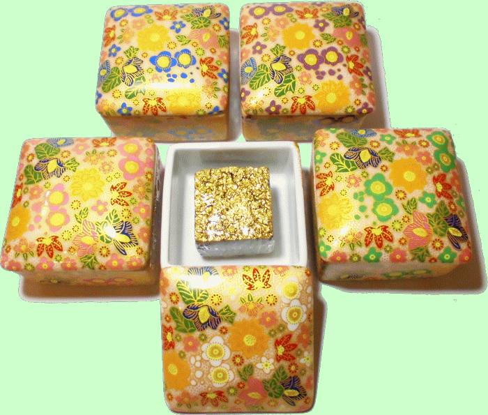 G-CUBE,ジーキューブ,九谷焼の香り箱 花詰