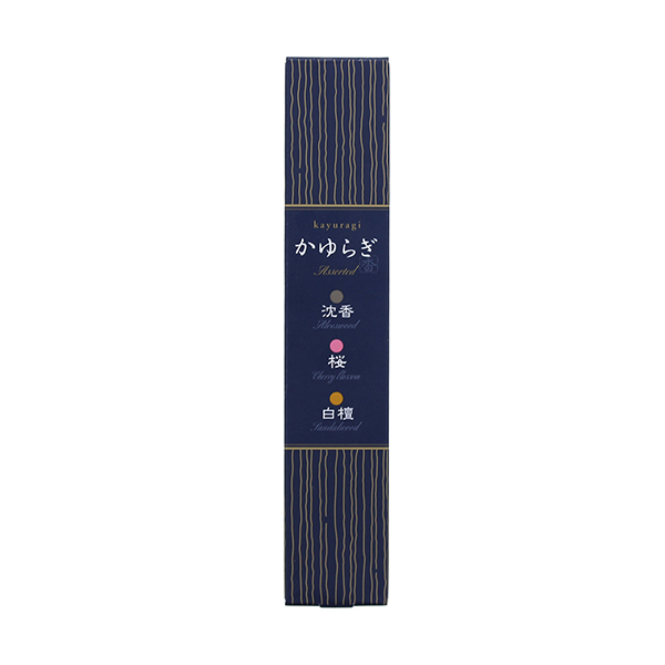 かゆらぎスティックアソート3種 日本香堂