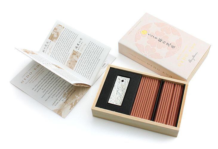日本香堂・大江戸香・江戸の香り 桜の花衣