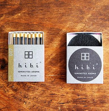 hibi 10minutes aroma マッチのお香 柚子