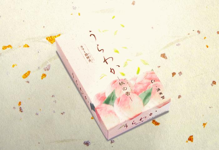 誠寿堂お線香・お香・うらわか-桃