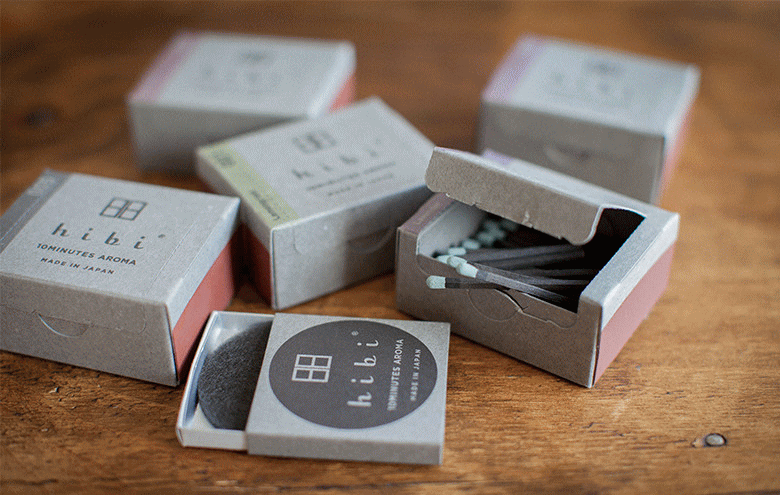 hibi 10minutes aroma マッチのお香 ラージボックス