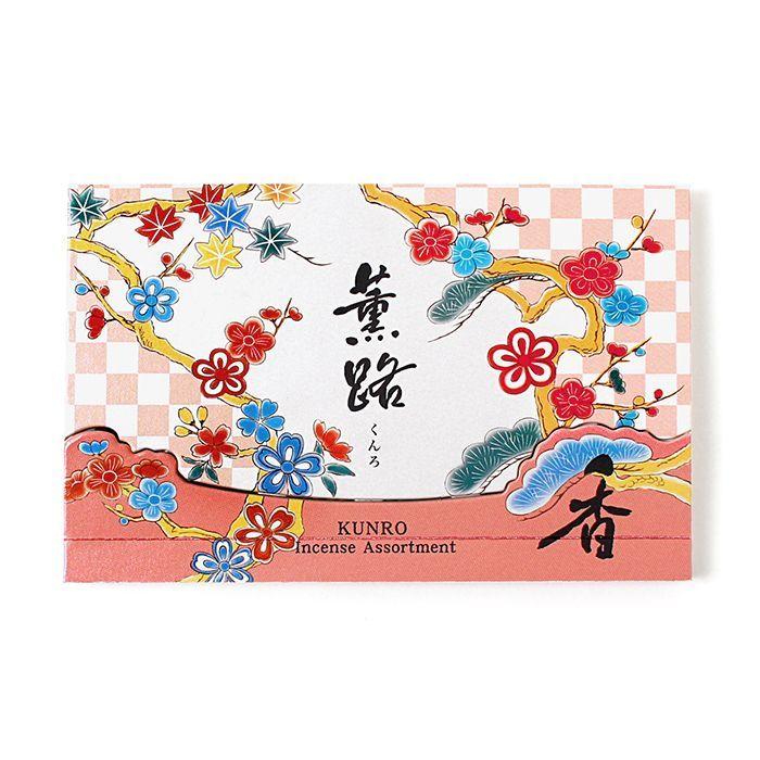京都松栄堂の薫路スティックアソート