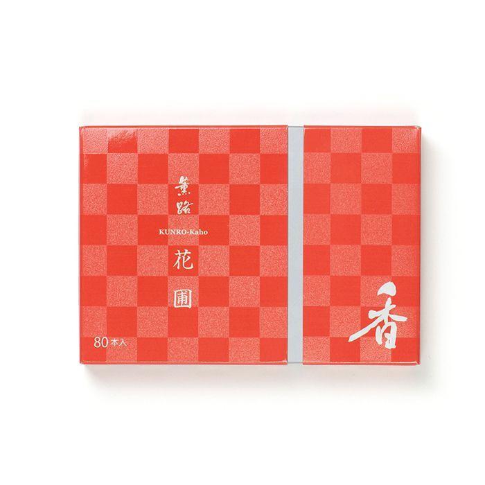 京都松栄堂の薫路スティック80本花圃