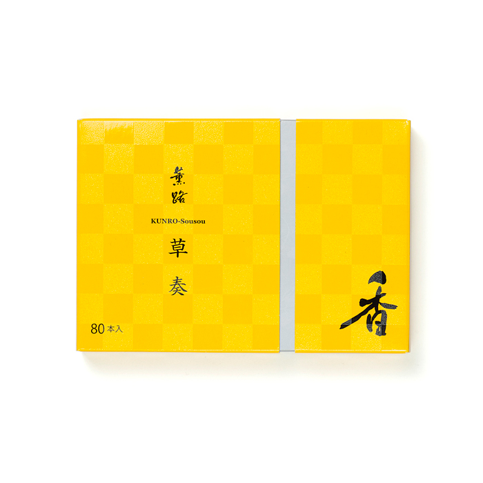 京都松栄堂の薫路スティック80本草奏
