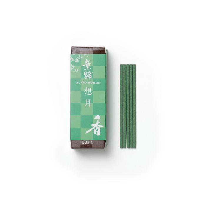 京都松栄堂の薫路スティック20本想月